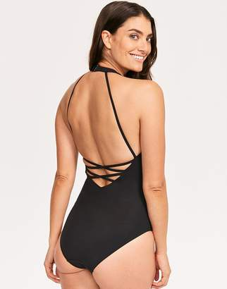 5b38ed6705 Figleaves Icon Adelaide Plunge Strappy Back Swimsuit