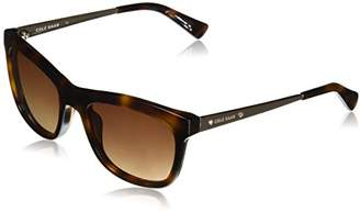 Cole Haan Women's Ch7027 Plastic Square Sunglasses