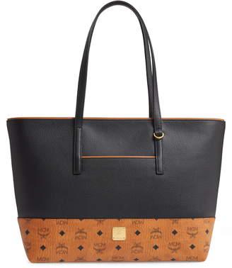 MCM Wilder Leather Shopper