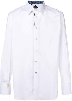 Billionaire 'Gonzalo' silver cut shirt
