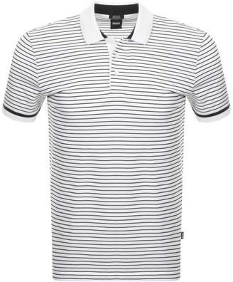 HUGO BOSS Parlay 43 Polo T Shirt White
