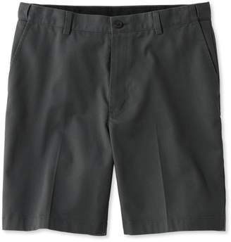 "L.L. Bean L.L.Bean Wrinkle-Free Double L Chino Shorts, Hidden Comfort Waist Plain Front 8"" Inseam"