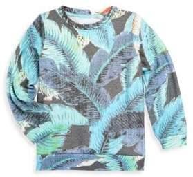 Sol Angeles Little Boy's & Boy's Lanai Leaf Sweater