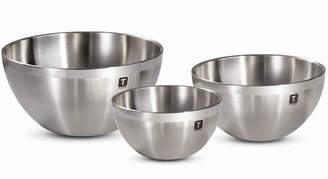 Tramontina Gourmet Double-Wall 3 Pc Mixing Bowls