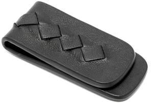 Bottega Veneta Magnetic leather money clip