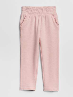 Gap Toddler Smocked-Waist Pants In French Terry
