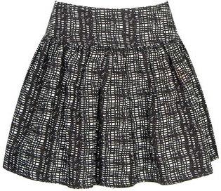 Mesh Cotton Skirt