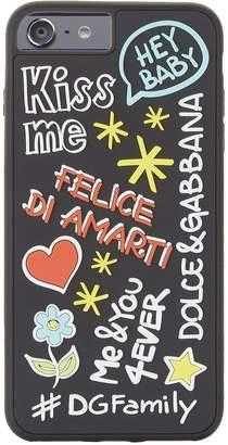 Dolce & Gabbana Mural Print iPhone 7/8 Plus Case