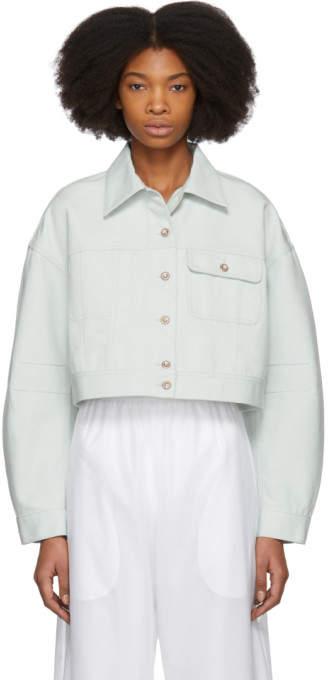 Blue Denim Kremi Jacket