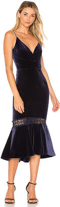Nicholas Velvet Bra Dress