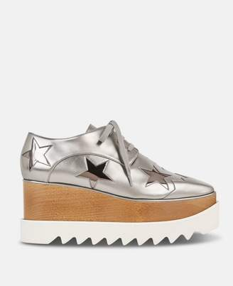 Stella McCartney silver eclypse star shoes