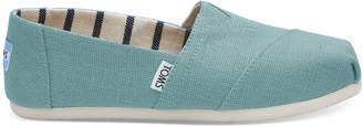 Toms Marine Blue Heritage Canvas Women's Classics