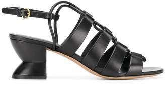 Salvatore Ferragamo heeled slingback sandals