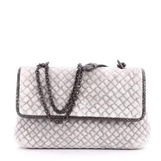 Bottega Veneta Olimpia Leather Clutch Bag
