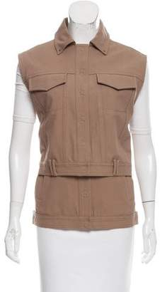 Alexander Wang Collared Layered Vest