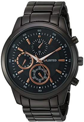 UNLISTED WATCHES Men's 'Sport' Quartz Metal and Alloy Casual
