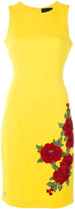 Philipp Plein sleeveless embroidered dress