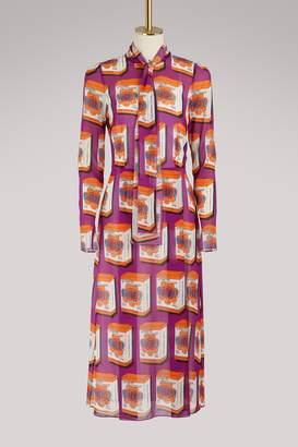 Dolce & Gabbana Boxes Pop midi dress