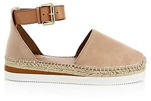 See by Chloe Women's Glyn Leather Flat Espadrilles
