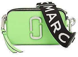 Marc Jacobs Women's The Snapshot Fluoro Leather Camera Bag