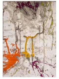 Tanja Multicolor Splatter Paint Area Rug