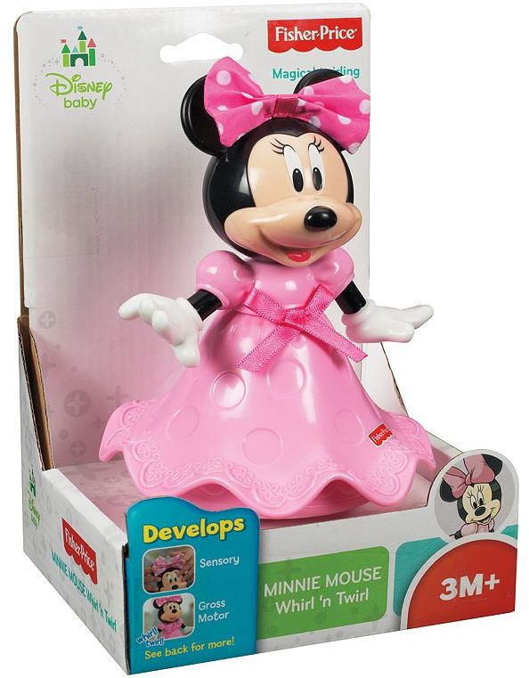 Fisher-Price Disney baby mickey mouse and friends minnie mouse whirl 'n twirl
