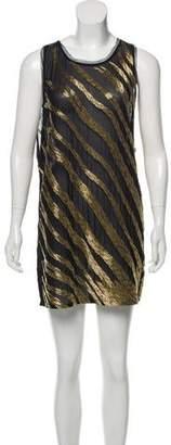 Pierre Balmain Sleeveless Embellished Dress w/ Tags