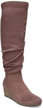 Dr. Scholl's Dr. Scholls Central Women's Wedge Knee High Boots
