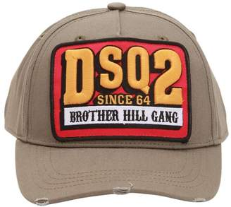 DSQUARED2 Hill Gang Cotton Baseball Hat