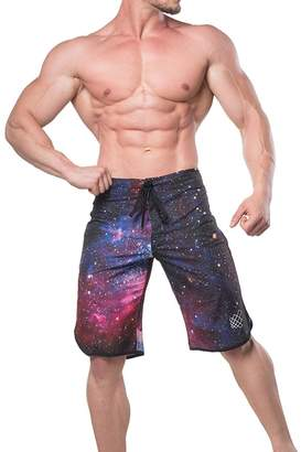 Trunks Jed North Men's Physique Posing Board Shorts Quick-dry Summer Shorts