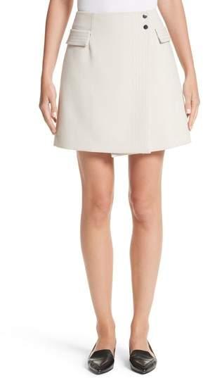 Women's Armani Jeans Crepe Wrap Skirt