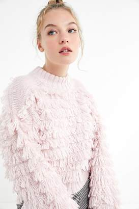 Urban Outfitters Layla Looped Mock-Neck Sweater