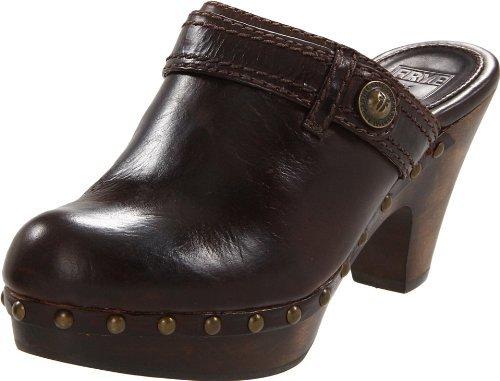 Frye Women's Audra Button Heel Clog