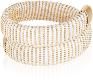 Carolina Bucci White Caro Gold-Plated Bracelet