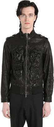 Neil Barrett Multi Pocket Leather Jacket
