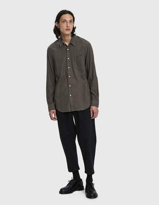 Our Legacy Classic Button Up Shirt in Mudd Silk