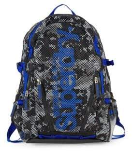 Superdry Camouflage Mesh Backpack