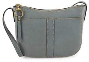 Frye Ilana Leather Zip Crossbody Bag