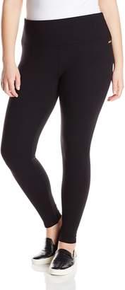 Calvin Klein Women's Plus-Size Ponte Knit Ankle Legging