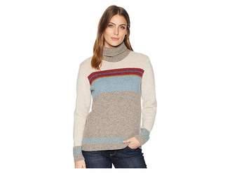 Pendleton Striped Wool Turtleneck