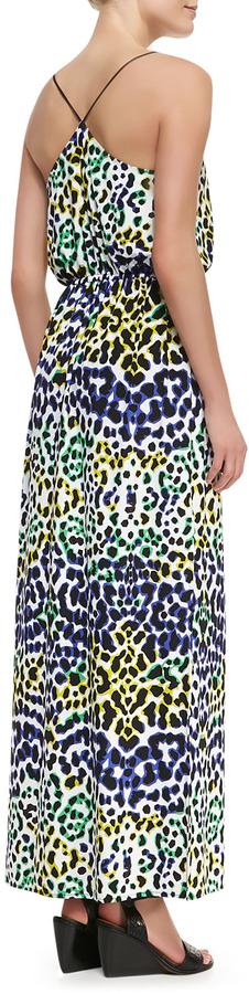 Milly Multi-Leopard-Print Maxi Dress