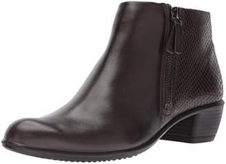 Ecco Women's Women's Touch 35 Bootie Ankle Coffee