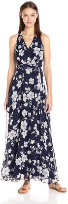 Chetta B Women's Floral Maxi Dress