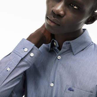 Lacoste Men's Slim Fit Cotton Poplin Shirt