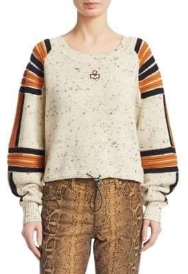 Etoile Isabel Marant Wool Ribbed Detail Sweater