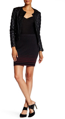 Max Studio Stripe Skirt $78 thestylecure.com