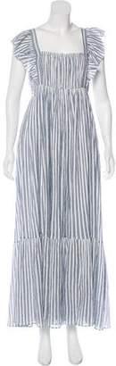 Ulla Johnson Striped Maxi Dress w/ Tags