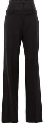 Yang Li loose flared trousers