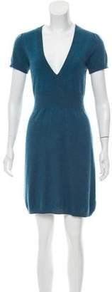 Trina Turk Cashmere Short-Sleeve Dress