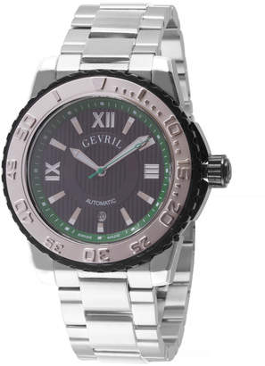 DAY Birger et Mikkelsen Gevril Men's Automatic Sea Cloud Stainless Steel Bracelet Watch